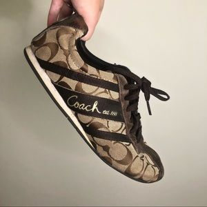 Coach Brown Shoes